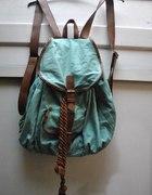 miętowy plecak...