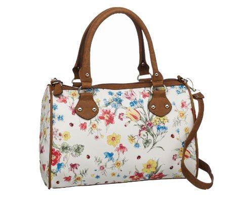 torebka w kwiatki