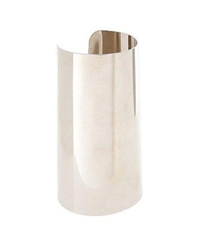 mankiet cuff choker srebrny