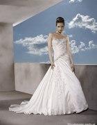 Moj wymarzona suknia ślubna Lisa Ferrera DEMETRIOS...