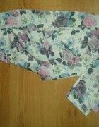 legginsy floral HiM cena z wysylka