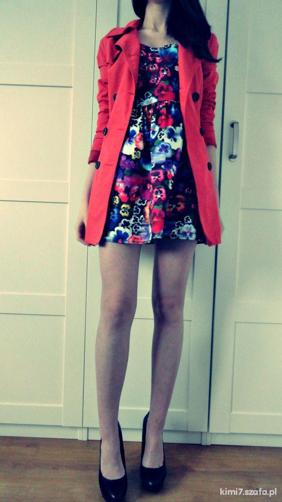 Romantyczne sukienka topshop