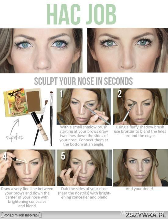Sztuczka makijażu
