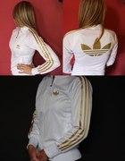 Adidas S 36 złote logo