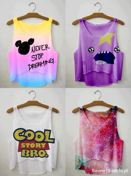 kolorowe bluzki
