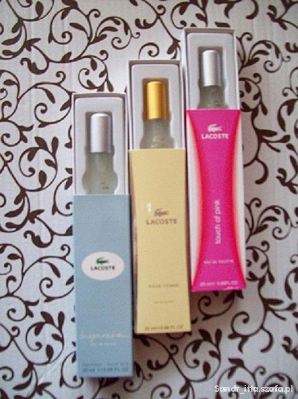 zestaw perfum lacoste i DG rezerwacja