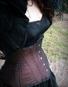 Underbust steampunk tafta LadyArdzesz...