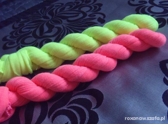 Chusty i apaszki Neonowe chusty hit