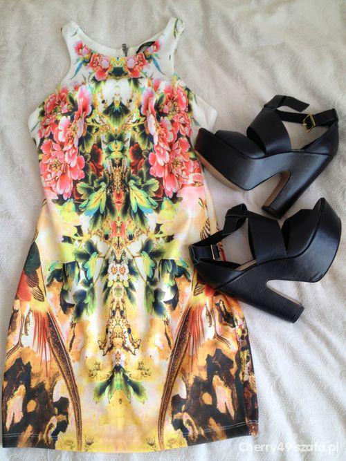 Eleganckie zara aztec dress