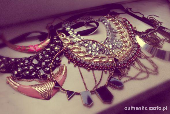 Mój styl necklaces