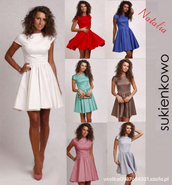 Eleganckie sukienka rozkloszowana