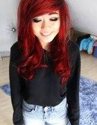 idealne czerwone włosy