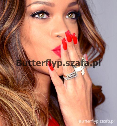 Fryzury Piękna Rihanna