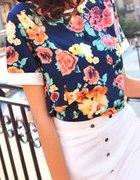 bluzeczka w kwiatki