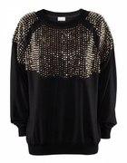 H&M Trend czarna bluza...