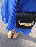 torebka z wężem złoty element...