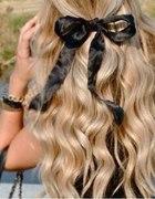 kokardka włosy