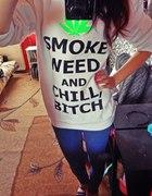 smoke weed bluza
