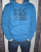 Diverse niebieska bluza z kapturem xl