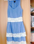 Autorska przeróbka sukienki H&M...