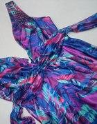 kolorowa sukienka new look