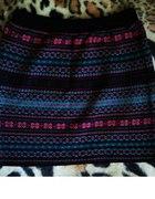 spódnica spódniczka azteckie wzory 38 40 bershka