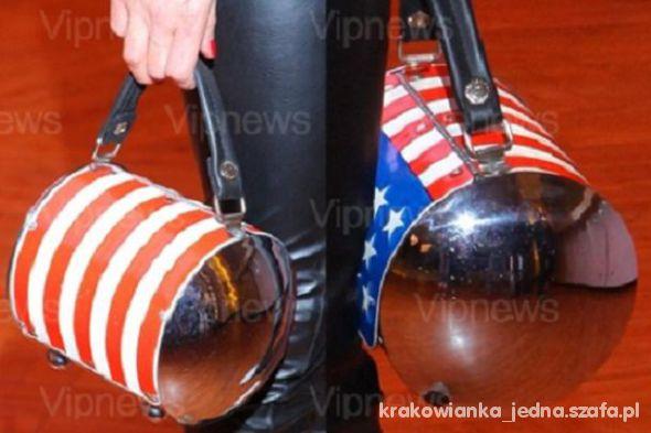 Kuferek z flagą amerykańską