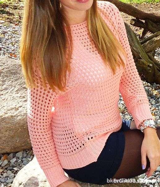 Sweterek Morelka