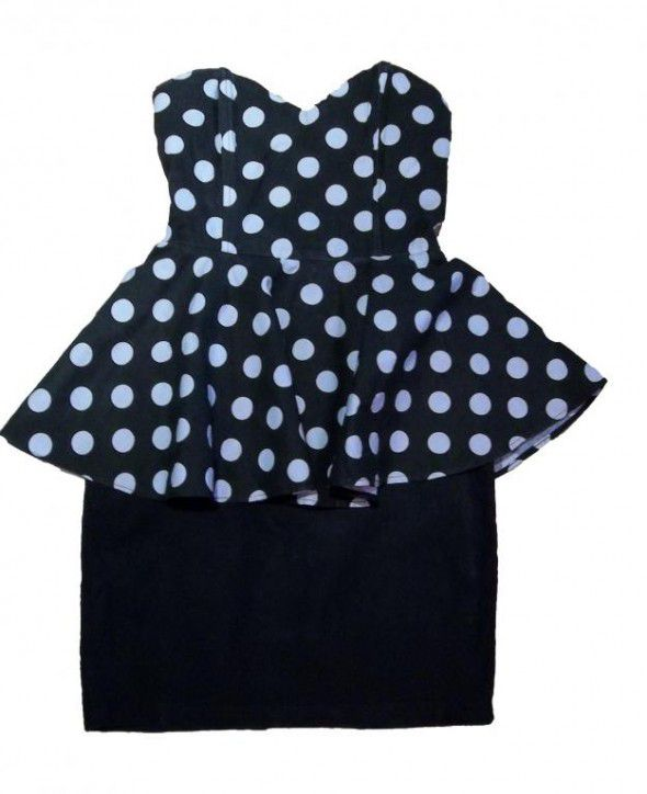 szukam sukienka baskinka grochy kropki
