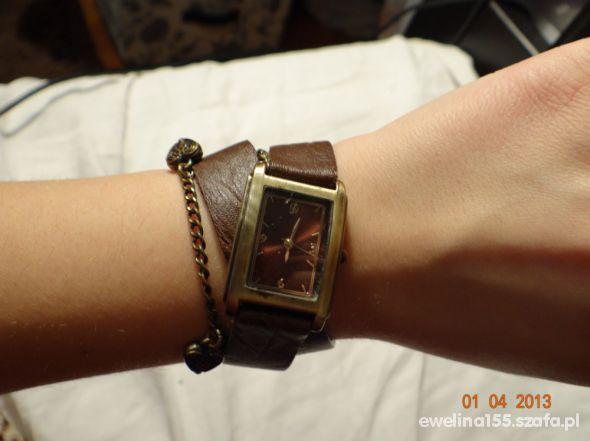 Pozostałe zegarek stradivarius podwójny pasek retro