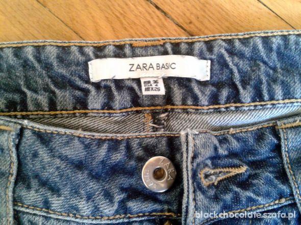 spodenki szorty jeans ZARA
