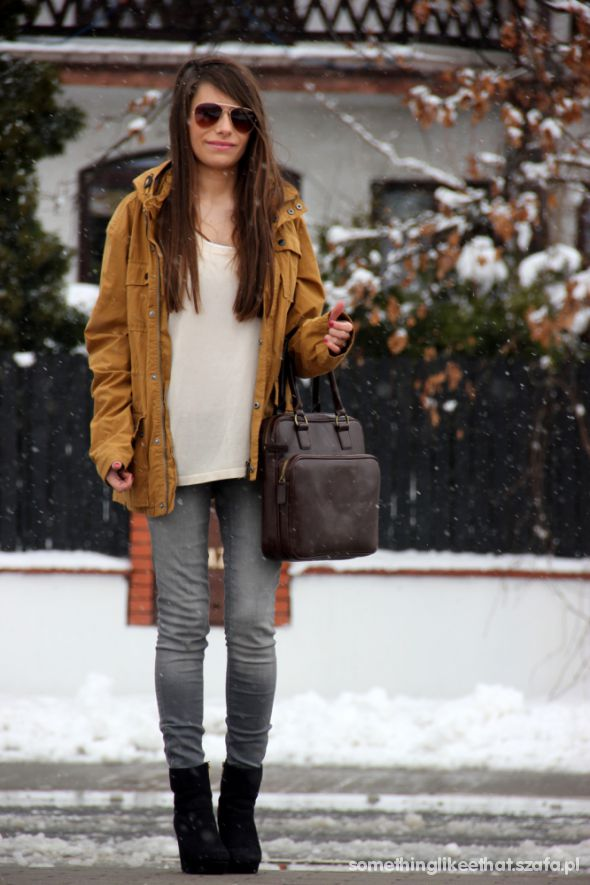 Ideal weather for parka