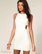 Sukienka biała ecru lub czarna w rozm S XS