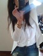 biały blezerek mój styl