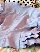 Żakiet w kolorze pastelowego fioletu H&M