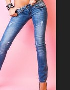 Jeans spodnie poszukiwane proste...