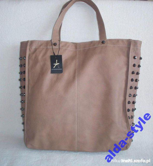 ATMOSPHERE SHOPPER BAG CAMEL ĆWIEKI