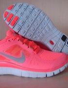NIKE FREE RUN 5 0 pastelowe modne sportowe