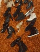 Kolekcja butów na obcasie