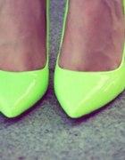 neonowe buty szpilki centro 36 37