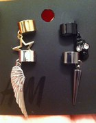 h&m earcuffs...