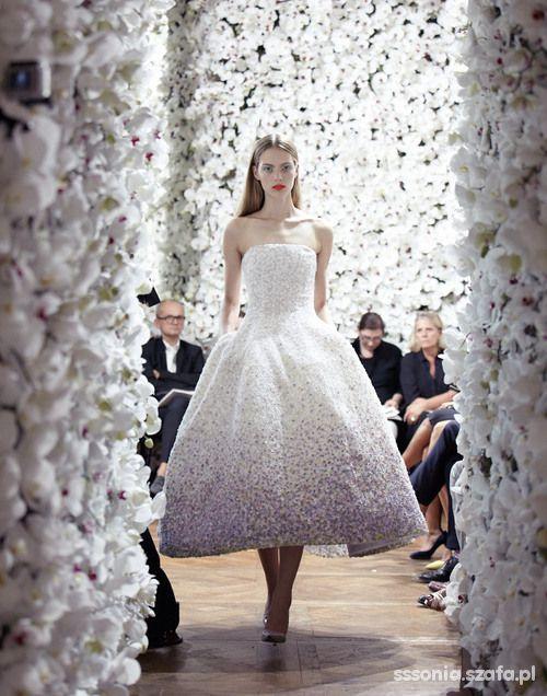 ślubny romantyczny Dior