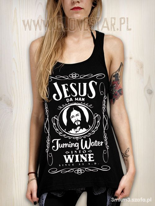 Jesus Da Man jak Jack jak Jack Daniels