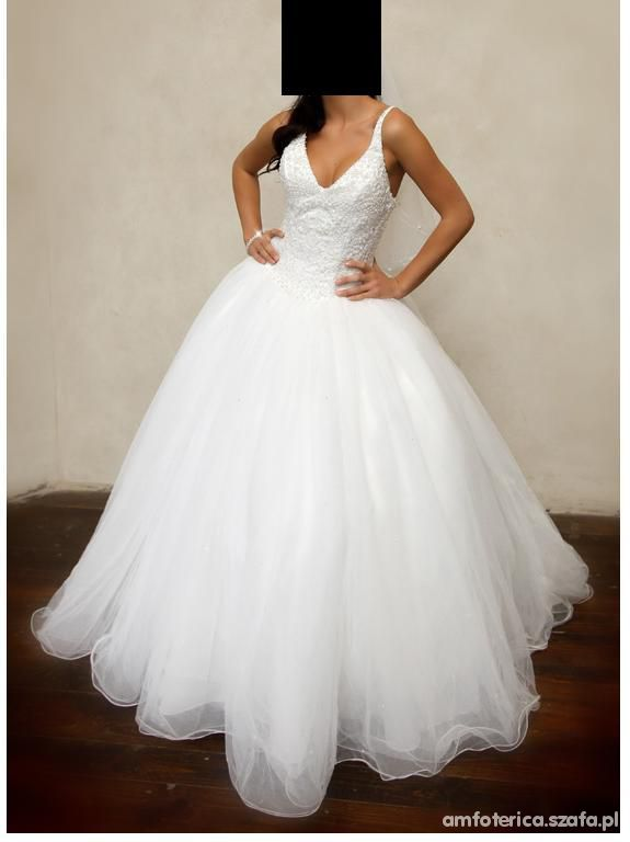 Romantyczne suknie ślubna