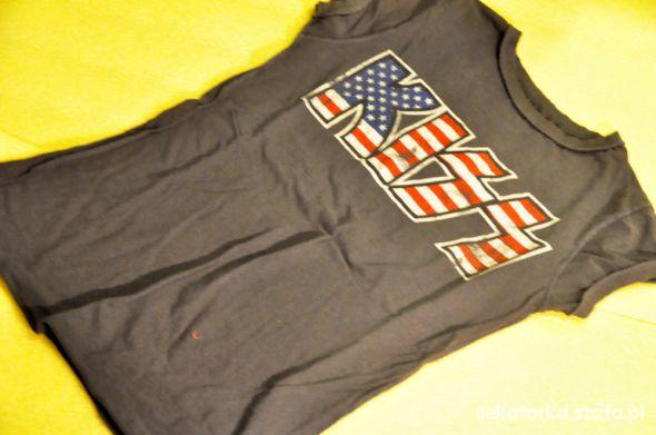 T-shirt Kiss AMPLIFIED flaga