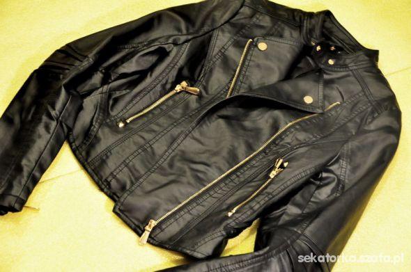 Odzież wierzchnia Ramoneska skórzana kurtka