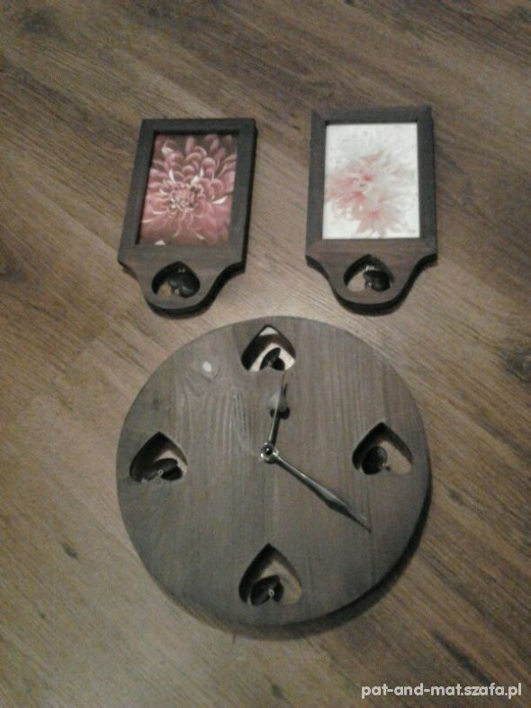 Pozostałe komplet zegar