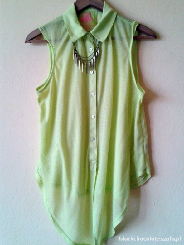 noeonowa zielona koszula niższa cena
