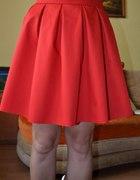 nowa spódnica rozkloszowana czerwona 40 L