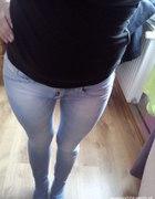 rurki skinny terginsy jasny jeans